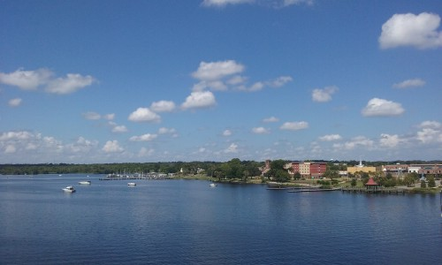 Palatka from the bridge