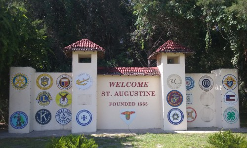 St Augustine, the last town