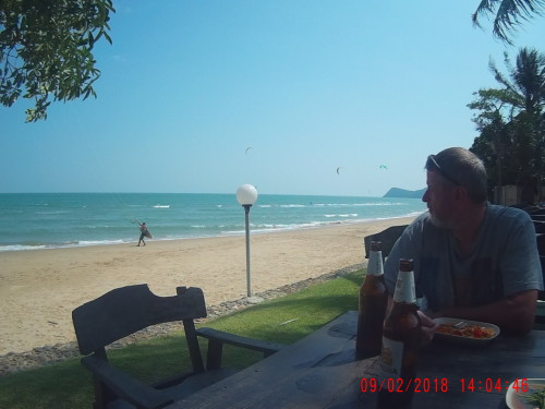 Pranburi beach